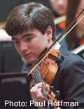 Youth Symphony musician